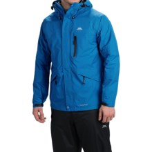 Trespass Corvo Rain Jacket - Waterproof (For Men) in Cobalt - Closeouts