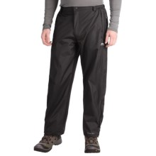 Trespass Corvo Rain Pants - Waterproof (For Men) in Black - Closeouts