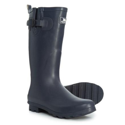 beae2be9c5c Trespass Damon Rain Boots (For Women) in Black Iris - Closeouts