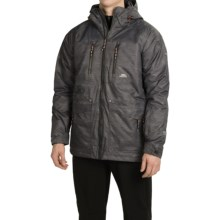 Trespass Disorder Ski Jacket - Waterproof, Insulated (For Men) in Ash Print - Closeouts
