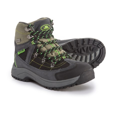 Trespass Elf Hiking Boots - Waterproof (For Little Boys) in Herb
