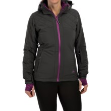 Trespass Faye Ski Jacket - Insulated, Waterproof (For Women) in Ash - Closeouts