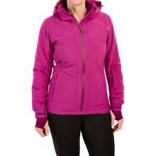 Trespass Faye Ski Jacket - Insulated, Waterproof (For Women) in Azalea - Closeouts