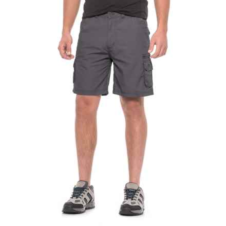 Trespass Gally Quick-Dry Shorts - Cotton Blend, UPF 40+ (For Men) in Graphite - Closeouts