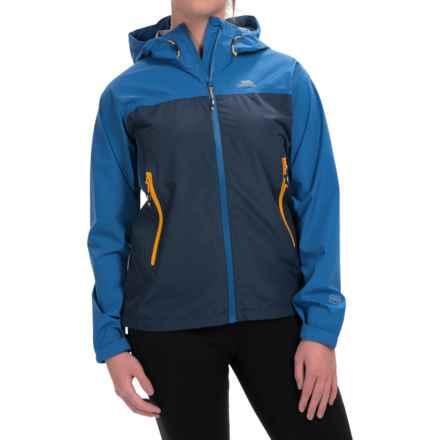 Trespass Gerwin Jacket - Waterproof (For Women) in Harbour Blue - Closeouts