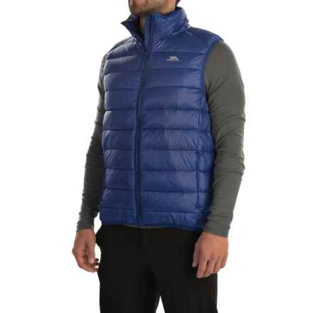 Trespass Hasty Gilet Down Vest - 500 Fill Power (For Men) in Twilight - Closeouts