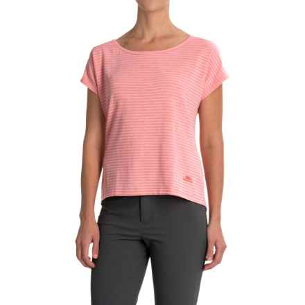 Trespass Hayday Quick Dry Shirt - Scoop Neck, Short Sleeve (For Women) in Blush - Closeouts