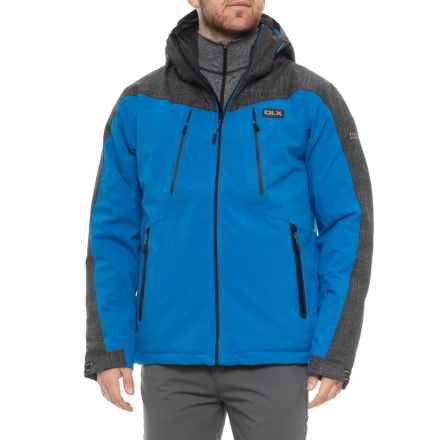 Trespass Icon DLX Ski Jacket - Waterproof, Insulated (For Men) in Bright Blue - Closeouts