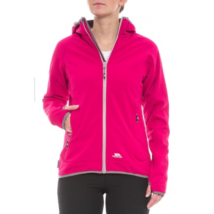Trespass Imani Soft Shell Jacket - Waterproof (For Women) in Cerise -  Closeouts 9981ee745