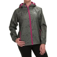 Trespass Indulge Rain Jacket - Waterproof (For Women) in Herb Print - Closeouts