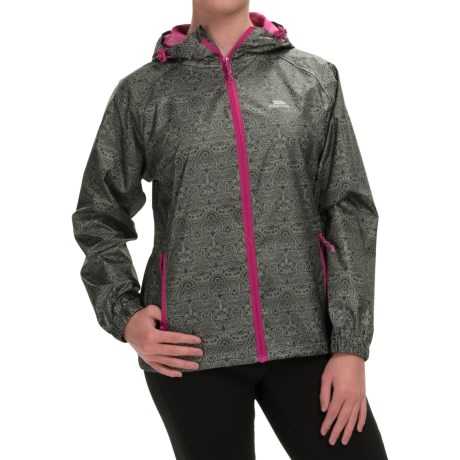 Trespass Indulge Rain Jacket Waterproof (For Women)