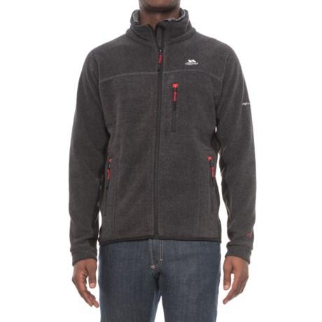 Trespass Jynx Fleece Jacket - Full Zip (For Men) in Black