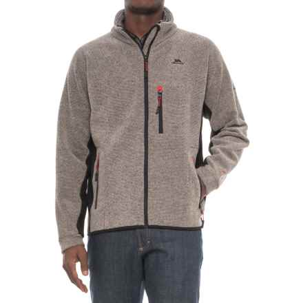 Trespass Jynx Fleece Jacket - Full Zip (For Men) in Latte - Closeouts