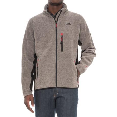Trespass Jynx Fleece Jacket - Full Zip (For Men) in Latte