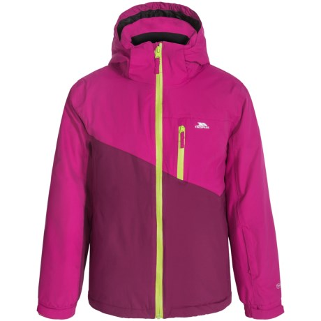 Trespass Keelan Ski Girls Jacket Waterproof, Insulated (For Little Girls)