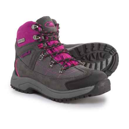 Trespass Laurel Hiking Boots - Waterproof (For Little Girls) in Beetroot - Closeouts