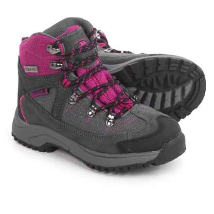 Trespass Laurel Hiking Boots - Waterproof (For Little Girls) in Purple/Grey - Closeouts