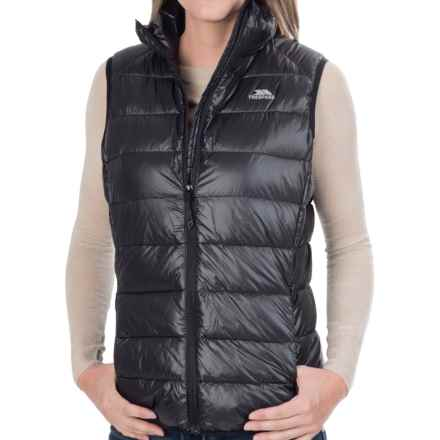 Trespass Leyner Gilet Down Vest - 500 Fill Power (For Women) in Black - Closeouts