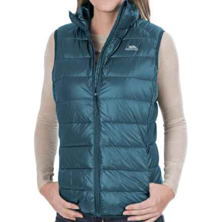 Trespass Leyner Gilet Down Vest - 500 Fill Power (For Women) in Mallard - Closeouts