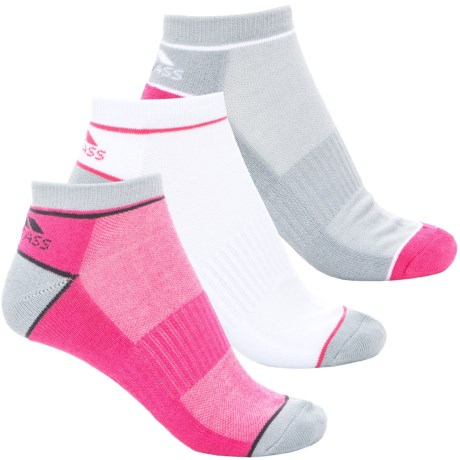 Trespass Liloo CoolMax® Trainer Socks - 3-Pack, Below the Ankle (For Women)