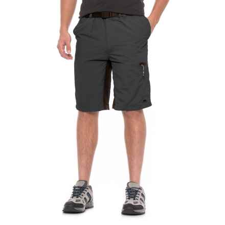 Trespass Lipeck Stretch Quick-Dry Shorts (For Men) in Black - Closeouts