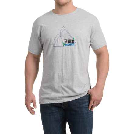 Trespass Luzon T-Shirt - Short Sleeve (For Men) in Grey Marl - Closeouts