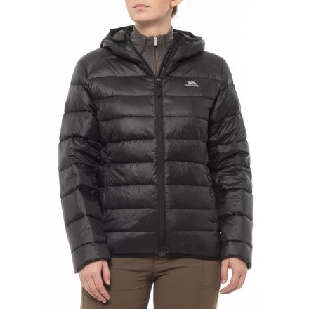 2c1cb69e36 Trespass Martine TP 50 Down Jacket - Insulated (For Women) in Black -  Closeouts