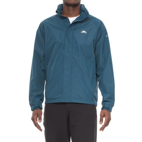 Trespass Nabro II Rain Jacket (For Men) in Midnight