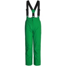 Trespass Nando Glacier Snow Pants - Waterproof, Insulated (For Little Boys) in Clover - Closeouts
