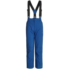 Trespass Nando Glacier Snow Pants - Waterproof, Insulated (For Little Girls) in Electric Blue - Closeouts