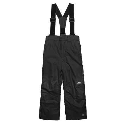 Trespass Norquay Ski Pants - Waterproof, Insulated (For Little and Big Girls) in Black - Closeouts