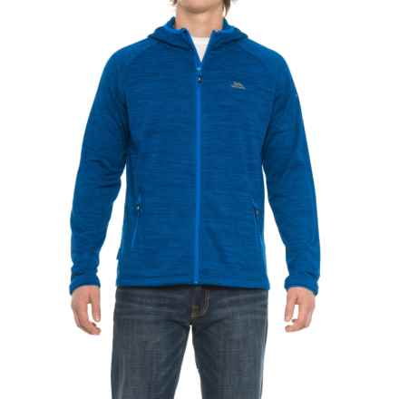 Trespass Northwood Fleece Jacket (For Men) in Bright Blue Marl - Closeouts