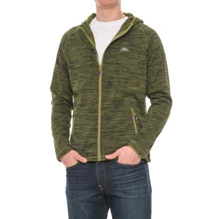 Trespass Northwood Fleece Jacket (For Men) in Moss Marl - Closeouts