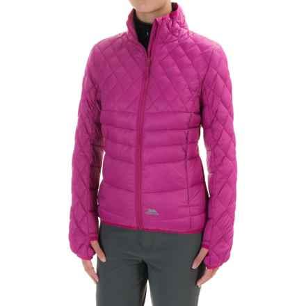 Trespass Ollo Down Jacket (For Women) in Azalea - Closeouts