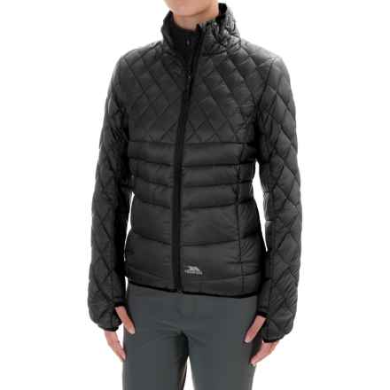 Trespass Ollo Down Jacket (For Women) in Black - Closeouts