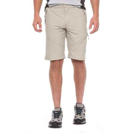 Trespass Pentas Quick-Dry Shorts - UPF 40+ (For Men) in Mushroom - Closeouts