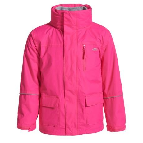 Trespass Prime II Jacket - 3-in-1 (For Little and Big Kids) in Fuchsia