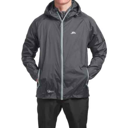 Trespass Qikpac Jacket - Waterproof (For Men and Women) in Flint - Closeouts