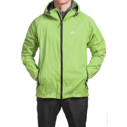 Trespass Qikpac Jacket - Waterproof (For Men and Women) in Leaf - Closeouts