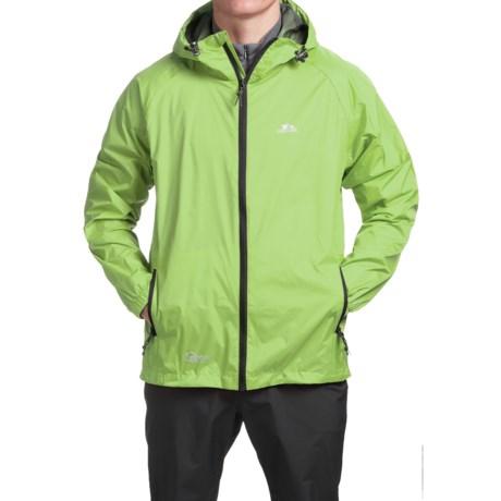 Trespass Qikpac Jacket - Waterproof (For Men and Women) in Leaf