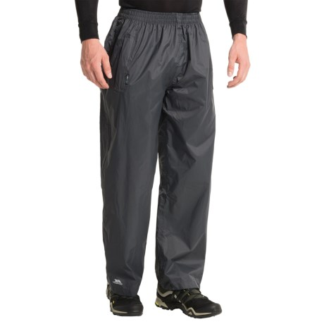 Trespass Qikpac Pants - Waterproof (For Men and Women) in Flint