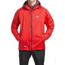 Trespass Qikpack Jacket - Waterproof (For Men and Women) in Grenadine - Closeouts