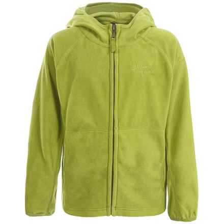 Trespass Rylan Fleece Jacket - Full Zip (For Little and Big Boys) in Citron - Closeouts