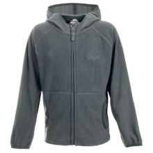 Trespass Rylan Fleece Jacket - Full Zip (For Little and Big Boys) in Granite - Closeouts