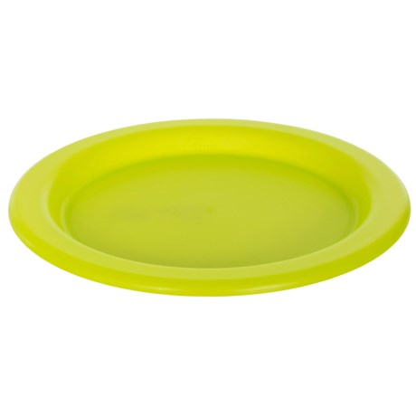 "Trespass Savour Picnic Plate - 10"" in Lime Green"