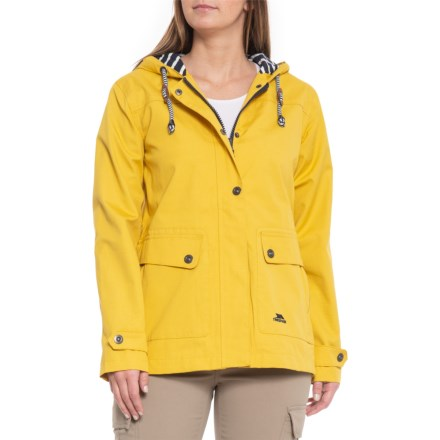 44e60847d8d Trespass Seawater Jacket - Waterproof (For Women) in Gold - Closeouts