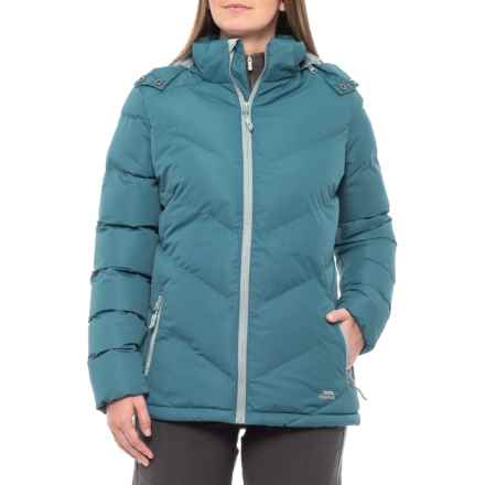9bbf7d39b Trespass Sitka Padded Jacket - Insulated (For Women) in Deep Sea - Closeouts