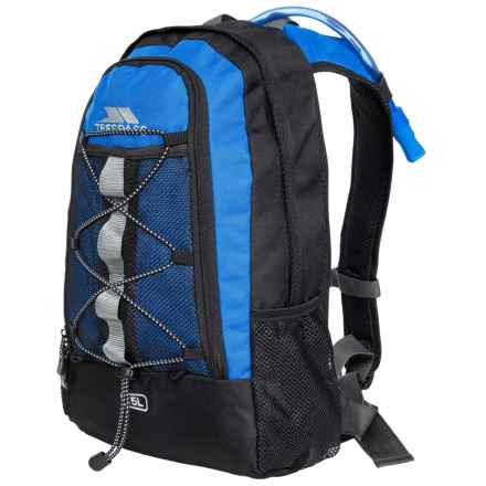 Trespass Slake 15L Hydration Pack - 70 oz. (For Men and Women) in Blue - Closeouts
