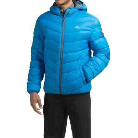 Trespass Stormer Down Ski Jacket - 500 Fill Power (For Men) in Ultramarine - Closeouts