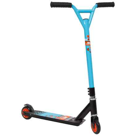 Trespass Streeteater Stunt Scooter in Cool Blue - Closeouts